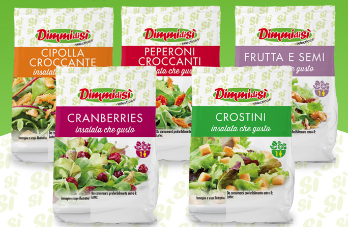 Toppings per Insalata DimmidiSì