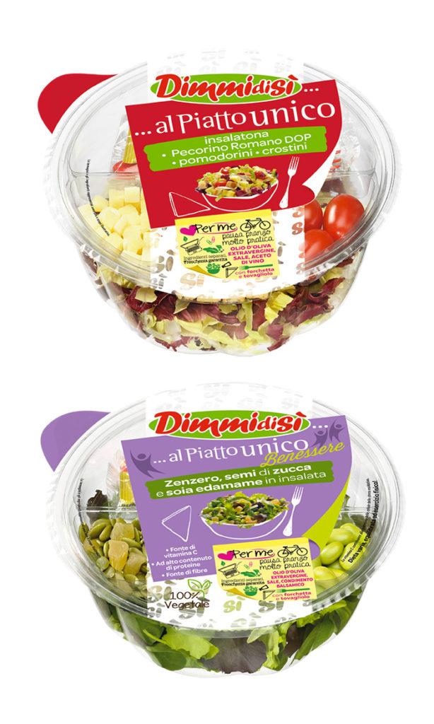 Due nuove insalatone arricchite per DimmidiSì