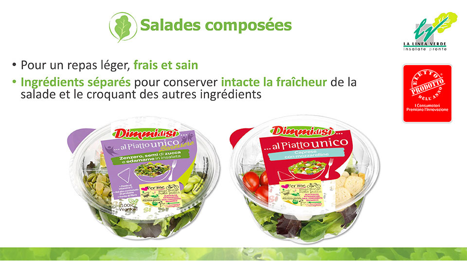 salades composées La linea verde
