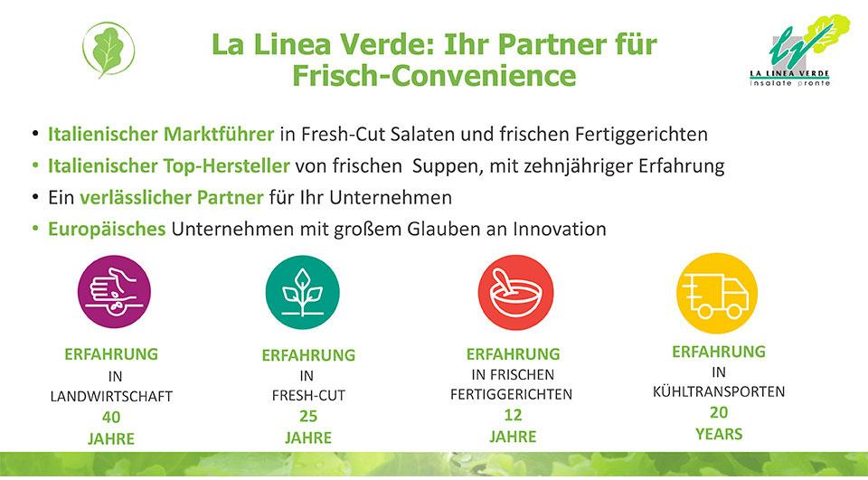 Ihr Partner für fisch convenience La linea verde