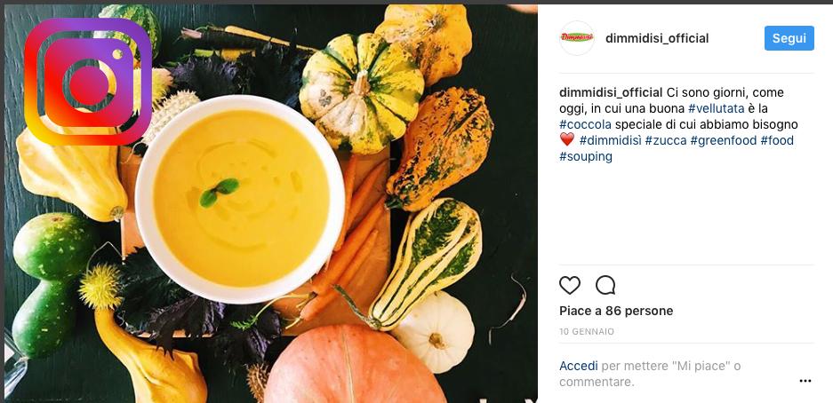 DimmidiSì debutta alla grande su Instagram