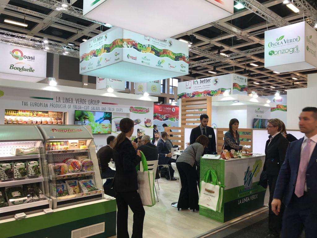 La Linea Verde: great success At Fruit Logistica