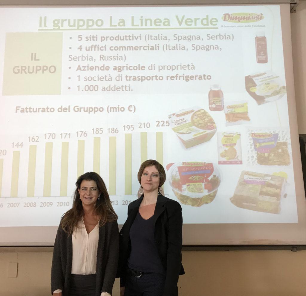 La Linea Verde come caso di successo al corso di Marketing della Facoltà di Scienze Agrarie e Alimentari di Milano