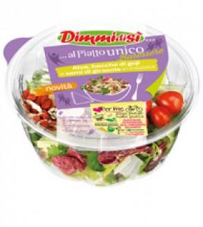 Quattro nuove insalatone arricchite: il banco frigo dell'ortofrutta fa il pieno di novità con DimmidiSì