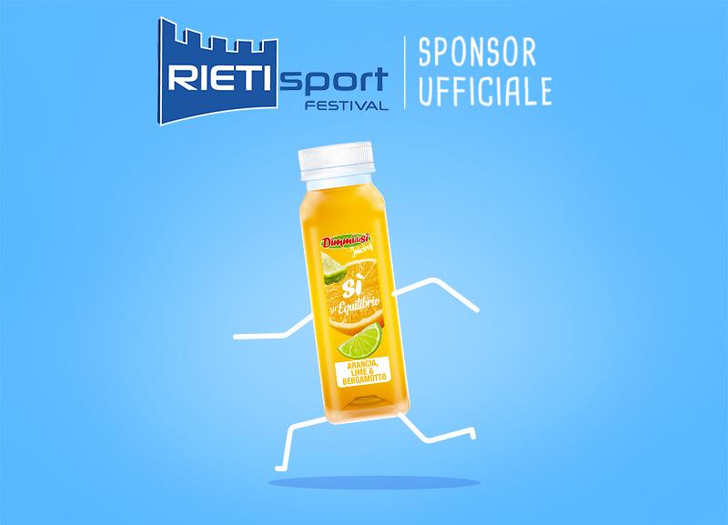 DimmidiSì sponsor ufficiale Rieti Sport Festival