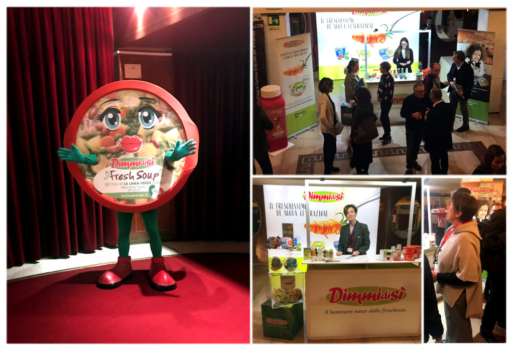 "La Linea Verde all'evento di lancio dello ""speciale frutta&verdura 2017"" dell'osservatorio ortofrutta di Mark up"