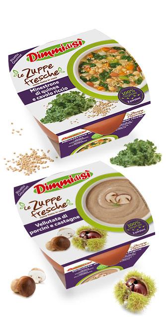 Arriva la linea PREMIUM de Le Zuppe Fresche DimmidiSì