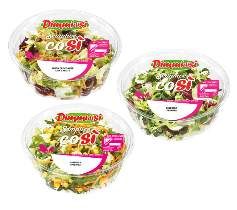 La Linea Verde launches a new range of salads for out-of-home consumption and creates a new segment in the fresh-cut market