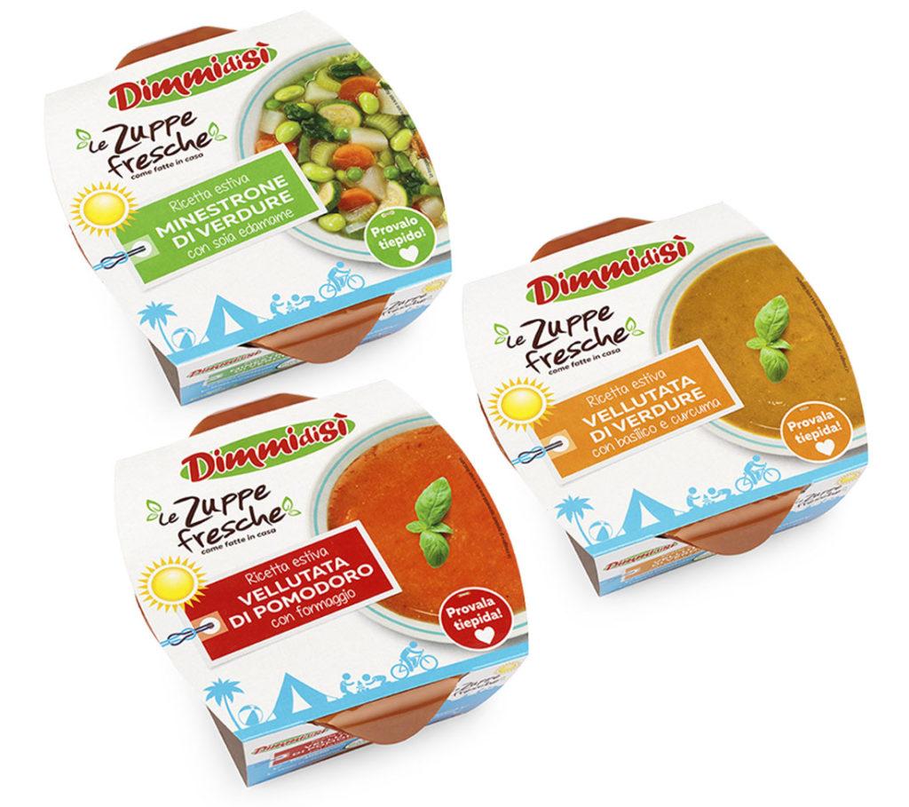 La Linea Verde launches a new Summer range of Fresh soups
