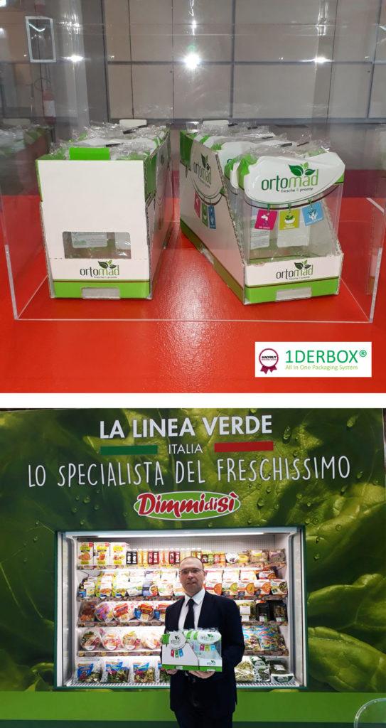 """A """"1DERBOX"""" DI ORTOMAD (Gruppo La Linea Verde) LA MEDAGLIA D'ARGENTO DEL MACFRUT INNOVATION AWARD"""