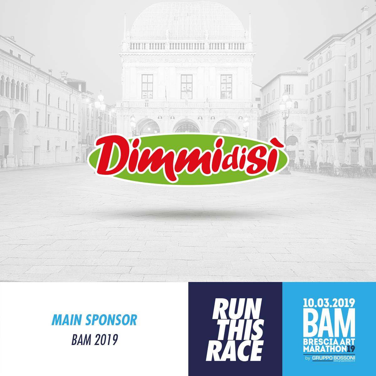 DimmidiSì Main Sponsor della Brescia Art Marathon