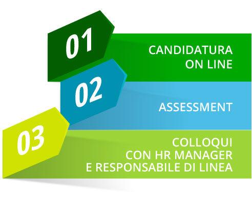 infografica processo selezione La linea verde