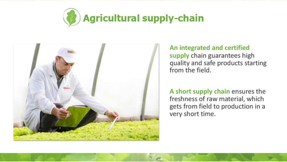 agricultural supply chain La linea verde