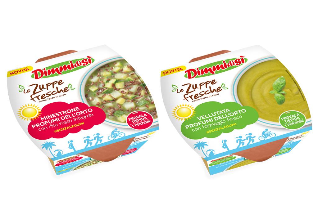 Zuppe Fresche DimmidiSì: due nuove ricette per l'estate