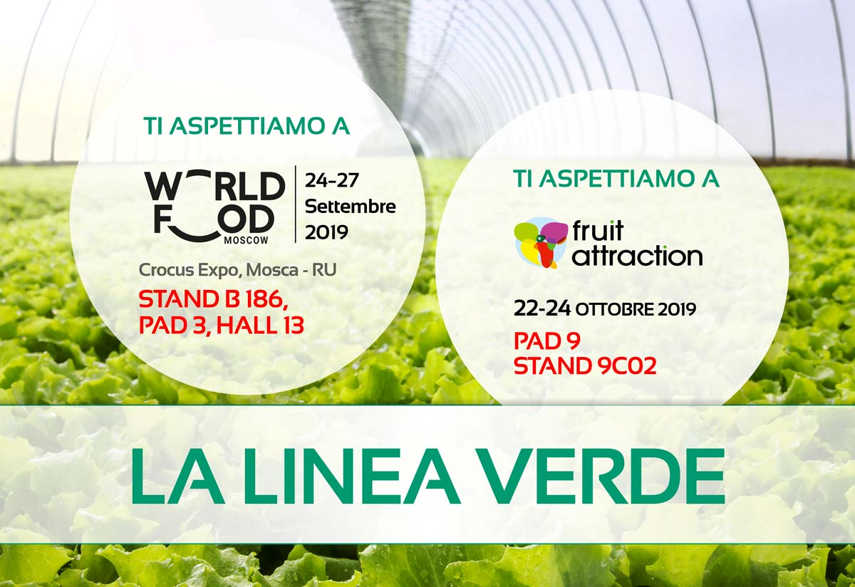 Vieni a trovarci a Worldfood Moscow e Fruit Attraction