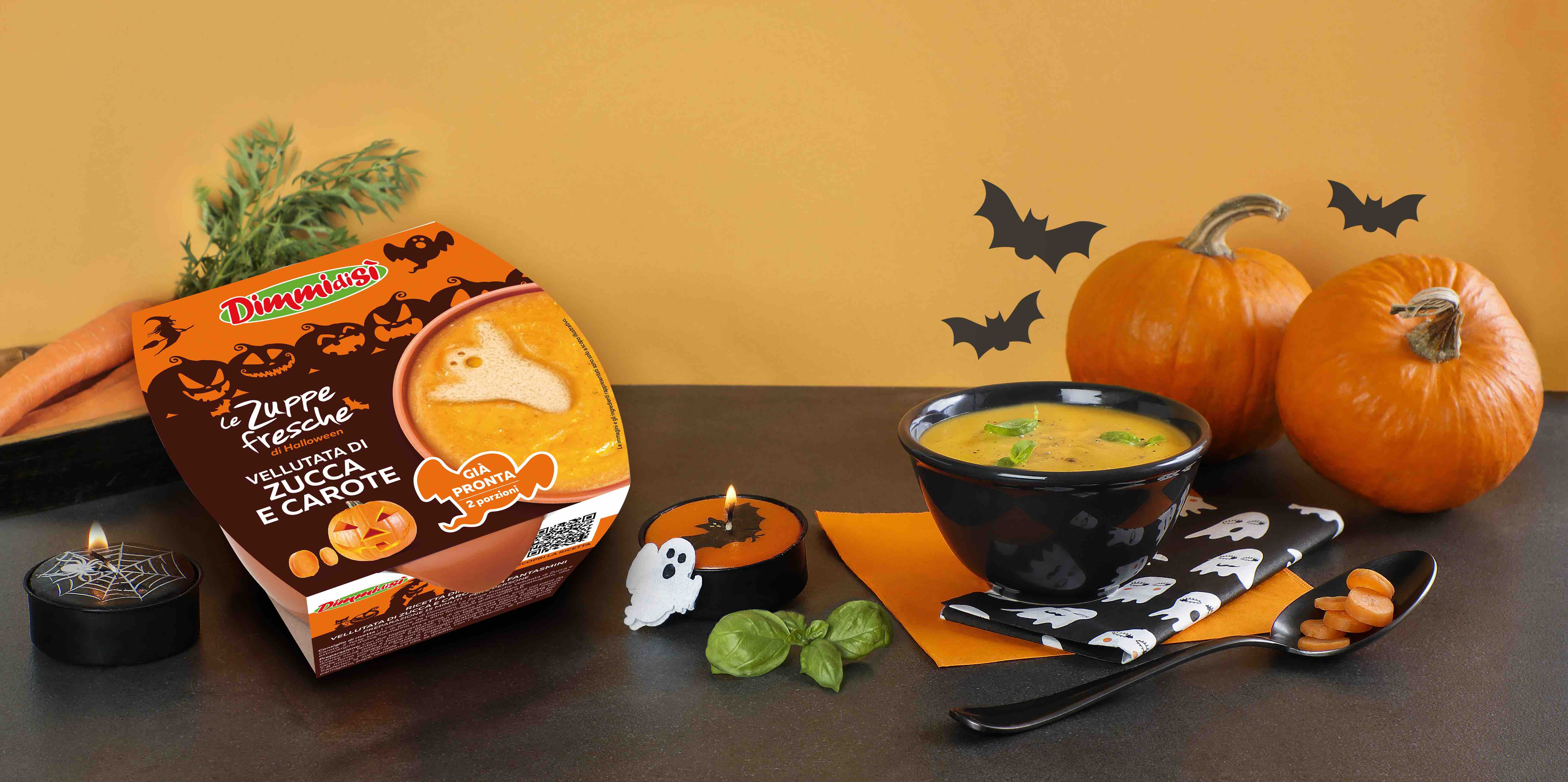 Dimmidisì Limited Edition Halloween. Le zuppe da paura.
