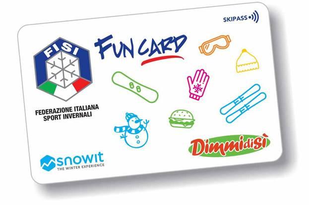 DimmidiSì sponsor della Fisi Fun Card