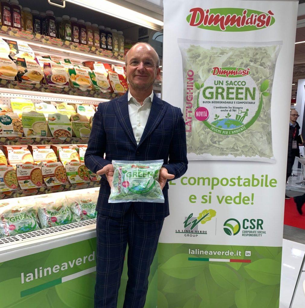 Domenico Battagliola Amministratore Delegato La Linea Verde a MARCA 2020