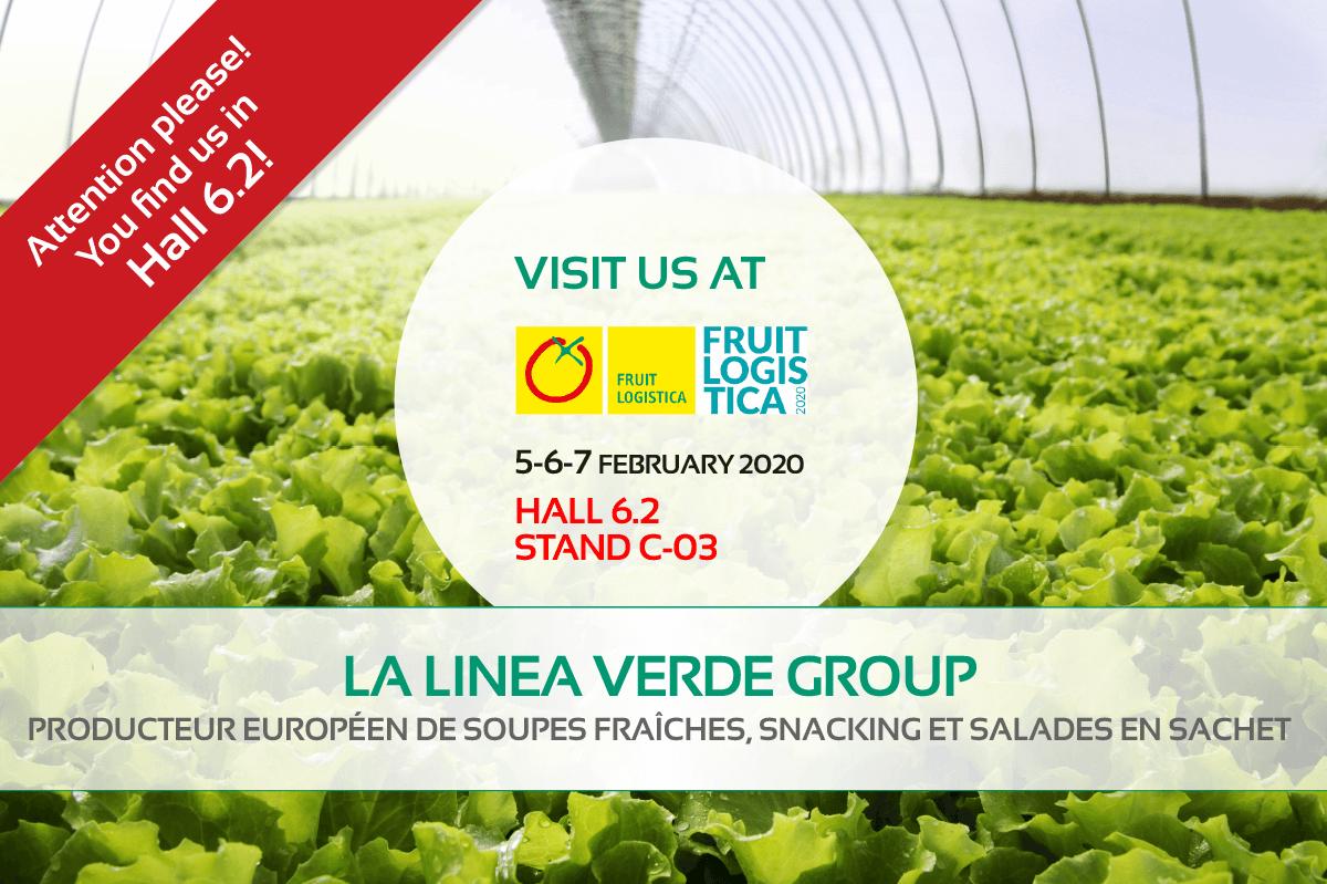 La Linea Verde sera présente au salon Fruit Logistica 2020 à Berlin
