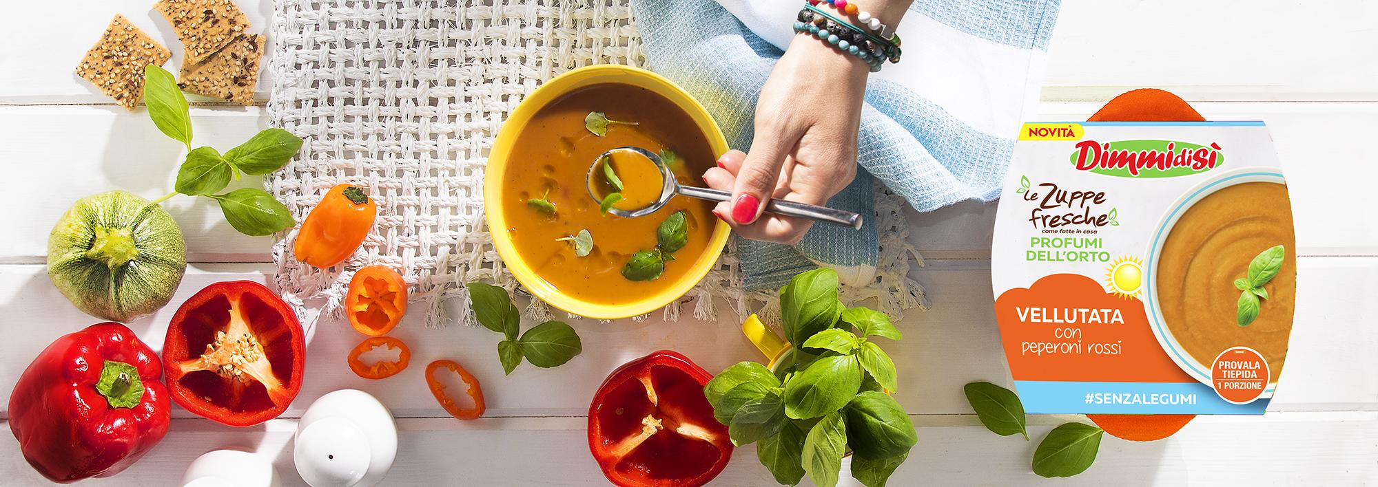 Le Zuppe Fresche Profumi dell'Orto: le ricette estive DimmidiSì diventano tre!