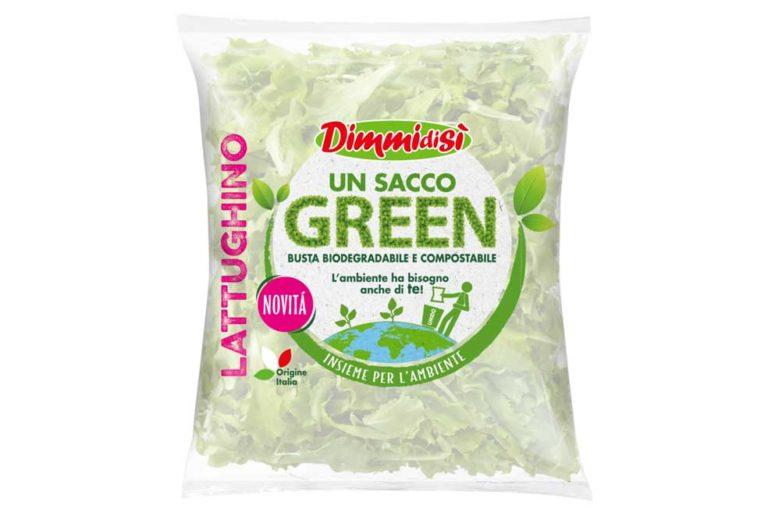 Un nouveau projet pour La Linea Verde : un sachet de salade en bioplastique, compostable