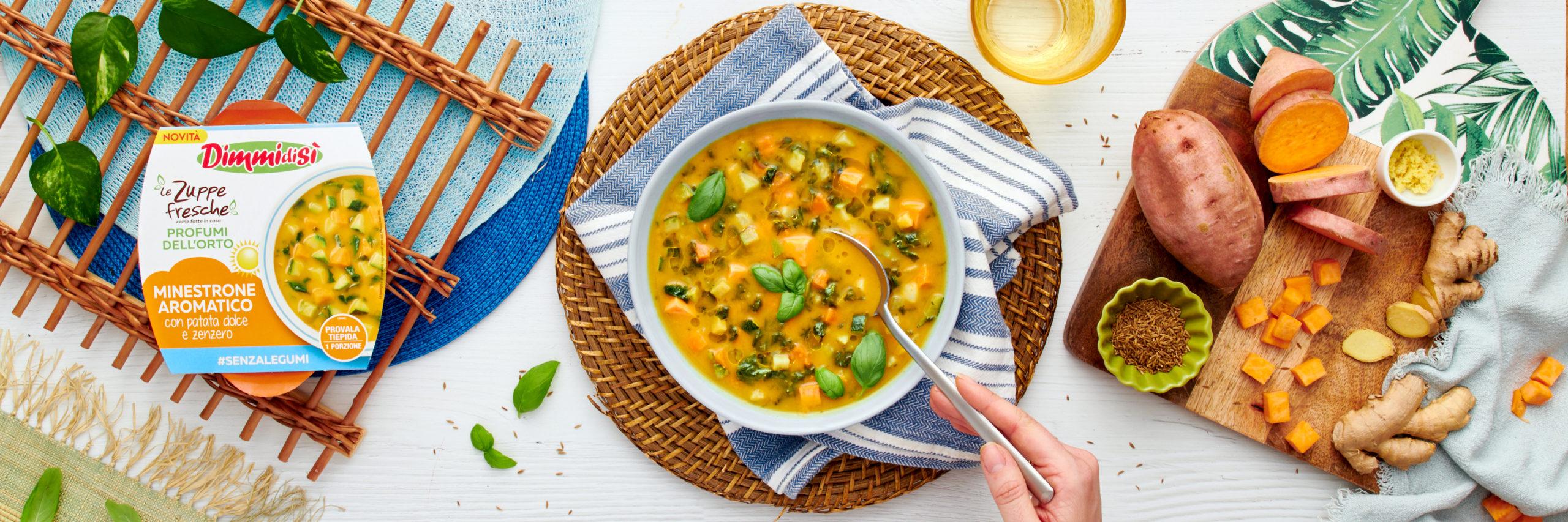 Le Zuppe Fresche Profumi dell'Orto: novità per le ricette estive DimmidiSì!