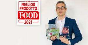 """DIMMIDISì UN SACCO GREEN È """"MIGLIOR PRODOTTO FOOD 2021"""""""