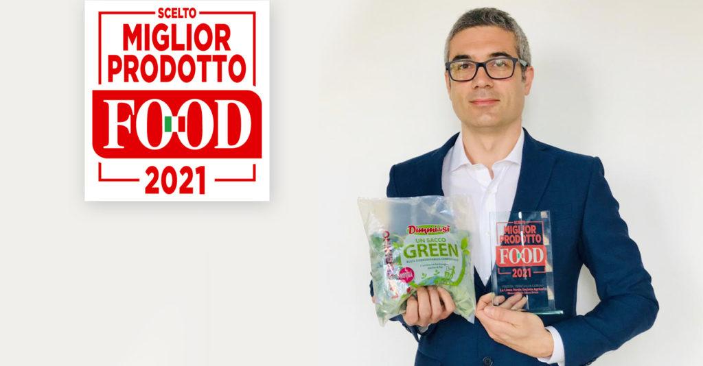 """DIMMIDISì UN SACCO GREEN È """"PRODOTTO FOOD 2021"""""""