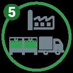 Icona trasporto merci La Linea Verde