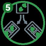 Pesatura e confezionamento la linea verde Insalate in busta
